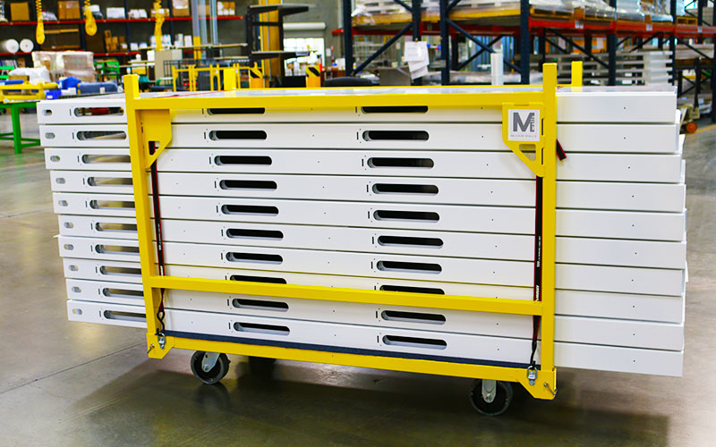Easily Transport and Store Panels on Robust Cart