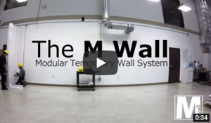 30' McCain Walls Installation