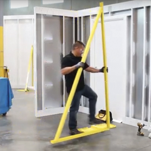Install a Folding Stand Mount