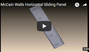 Horizontal Sliding Panel